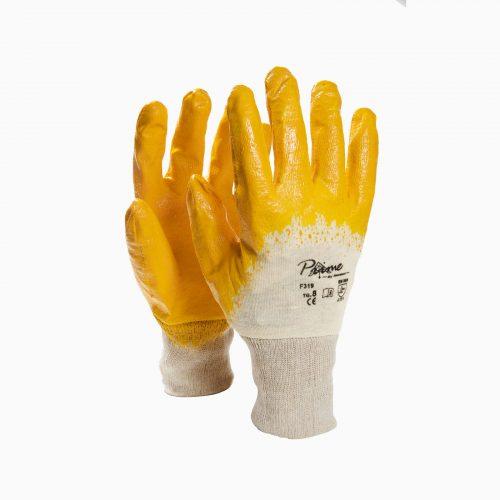 ΓAΝΤΙA 2030907 Γάντια εργασία Νιτριλίου κίτρινα.