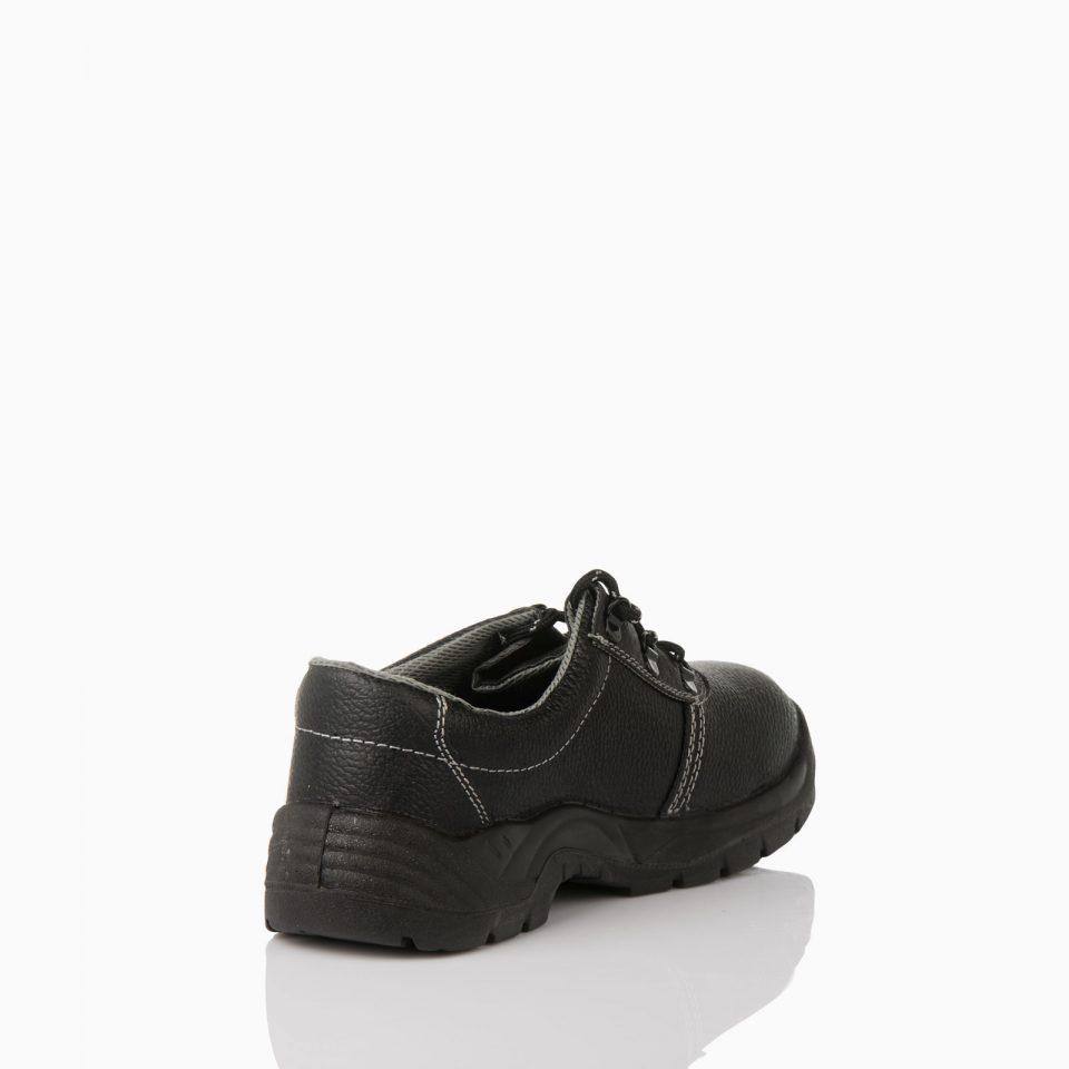 13-505072006-BACK Παπούτσι απλό. Aπό αδιαβροχοποιημένο δέρμα. Σόλα πολυουρεθάνης δύο πυκνοτήτων, αντιολισθητικό.