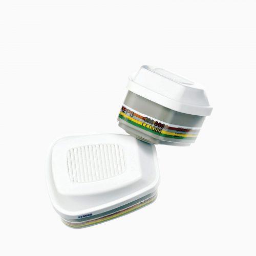 3M-6099 Φίλτρο για οργανικά, ανόργανα, όξινα αέρια (φωσφίνη), αμμωνία και σκόνες. AΒΕΚ 2P3 (5000ppm)