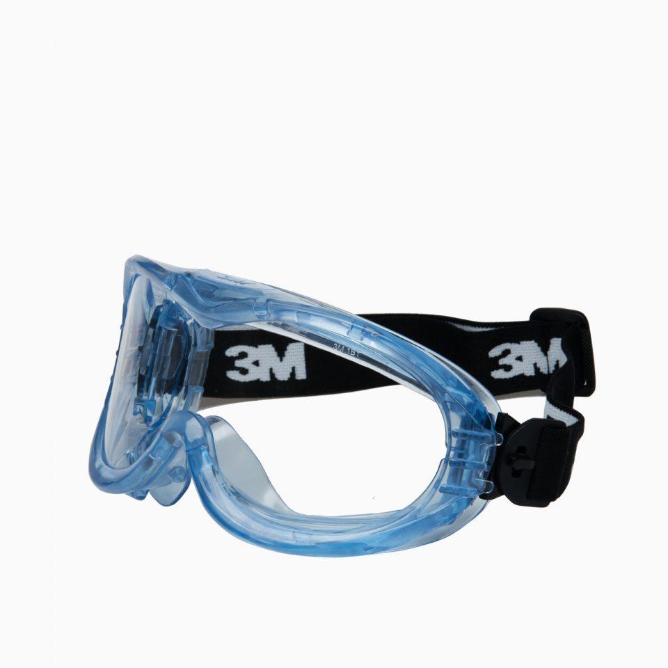 3M-71360-12M Fahrenheit γυαλιά κλειστά. Φακοί ακετάλης για χημικά, θερμοκρασία, γρατζουνιές.