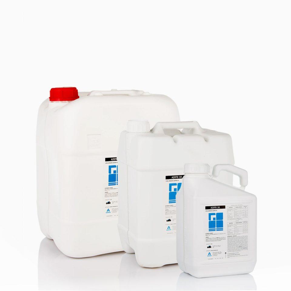 AZOTO-30 Υγρό οργανικό αζωτούχο λίπασμα. Για υδρολίπανση και φυλλολίπανση.