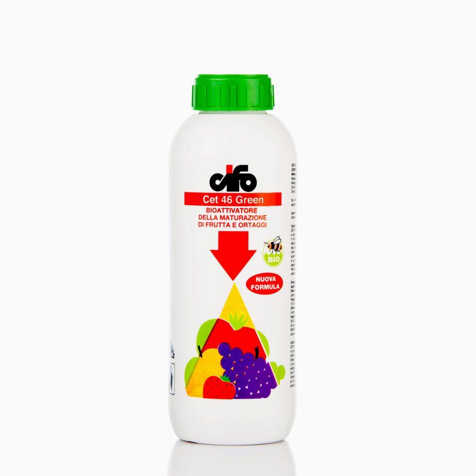 Το CEt 46 Green είναι υγρό λίπασμα κατάλληλο για πρωΐμιση, χρώμα, γεύση και ομοιόμορφη ωρίμανση.