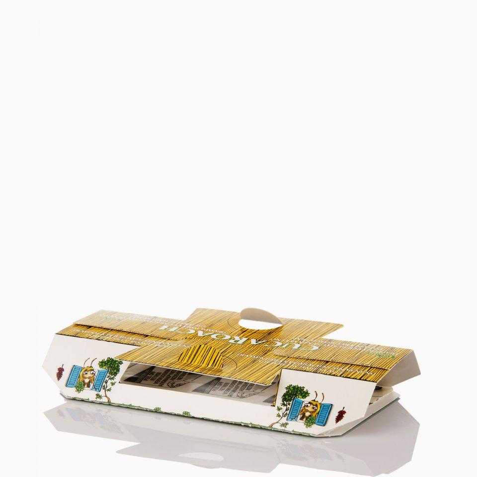 CUCAROACH Κατσαριδοπαγίδα με κόλλα που περιέχει προσελκυστική φερομόνη.