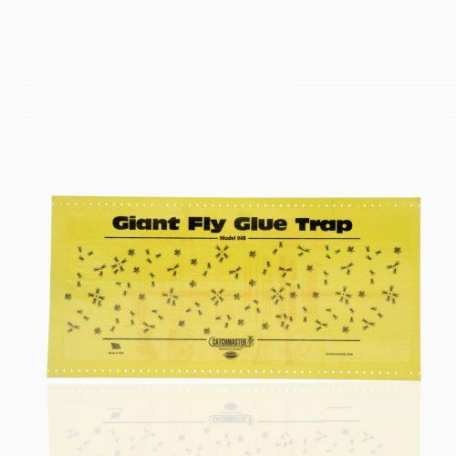 GIANT-FLY-GLUE-TRAP Χάρτινη παγίδα 30cm x 59cm με κόλλα για όλα τα έντομα.