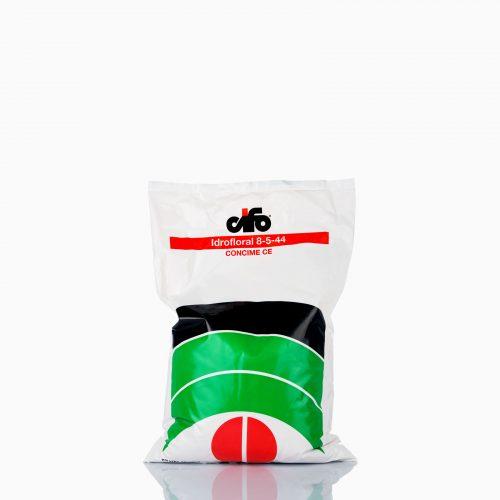 IDROFLORAL 8-5-44 Λίπασμα ΕΚ υψηλής ποιότητας με άμμεση απορρόφηση, 100% καθαρότητα και 100% διαλυτότητα, σε σκόνη.