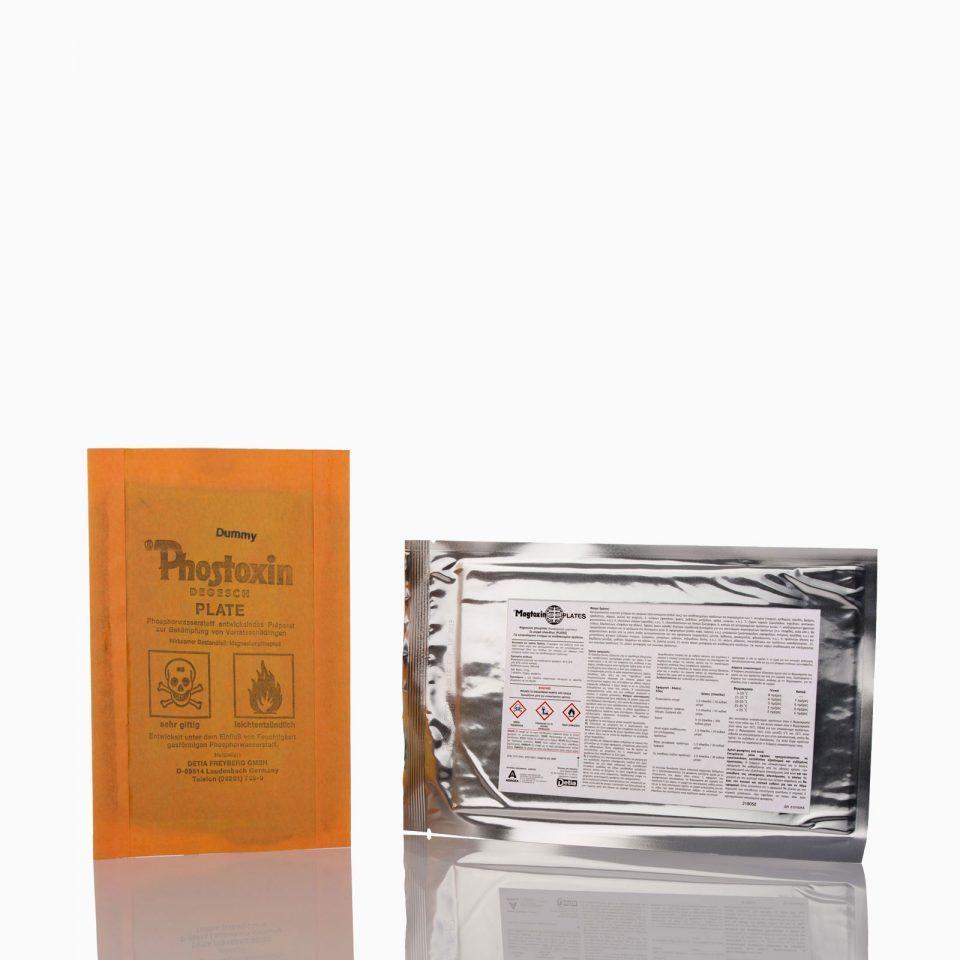 MAGTOXIN PLATES Σκεύασμα Φωσφορούχου Μαγνησίου σε μορφή πλακιδίου 117gr.