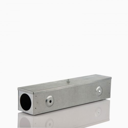 RAT-BAIT-BOX-STEEL Aνοξείδωτος σταθμός, πολύ ανθεκτικός για αρουραίους και ποντίκια.