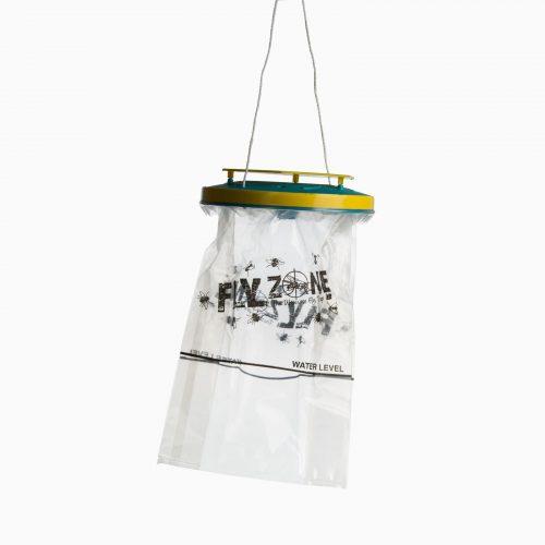 FLY-ZONE Μυγοπαγίδα που δέχεται δόλωμα και νερό.