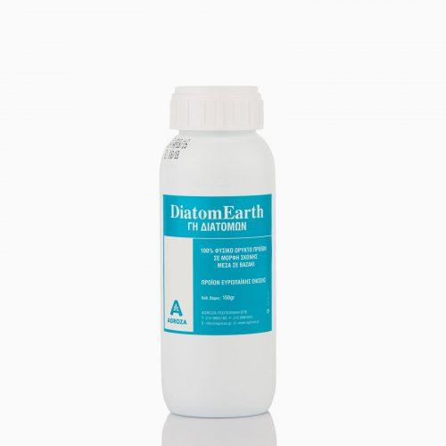 DIATOM EARTH Διατομική γη ή γη διατόμων είναι ένα 100% φυσικό ορυκτό προϊόν σε μορφή λεπτής σκόνης. Εντομοκτόνο, για την καταπολέμηση ερπόντων εντόμων.