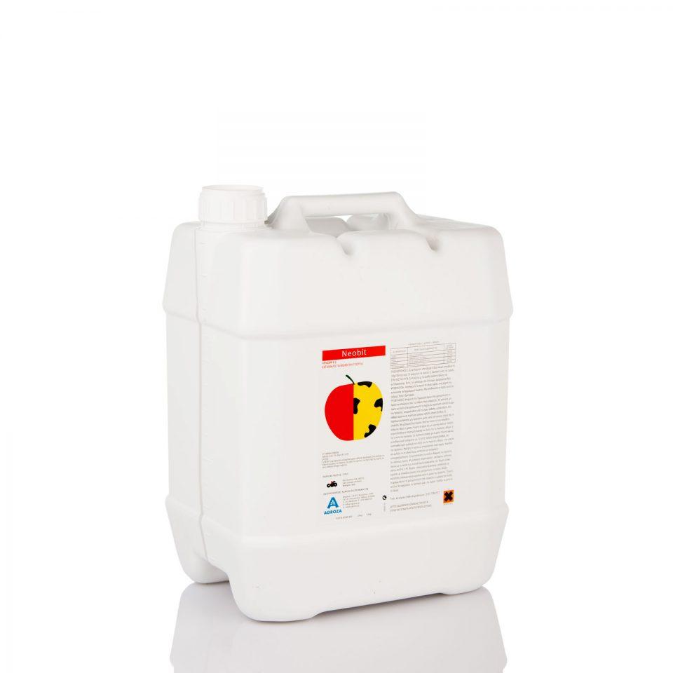 NEOBIT-12 Λίπασμα Ε.Κ. κατάλληλο για βιολογική καλλιέργεια. Το Νeobit προλαμβάνει το Bitter pit των μήλων, της Ξήρανσης της ράχης του αμπελιού, της Ξηρής Σήψης της τομάτας και άλλων ασθενειών λόγω έλλειψης ασβεστίου. Βιολογικό.