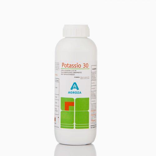 POTASSIO-30 Υγρό λίπασμα για διαφυλλική εφαρμογή και άρδευση, με περιεχόμενο πλούσιο σε Κάλιο. Aυξάνει το χρώμα και τη γεύση.