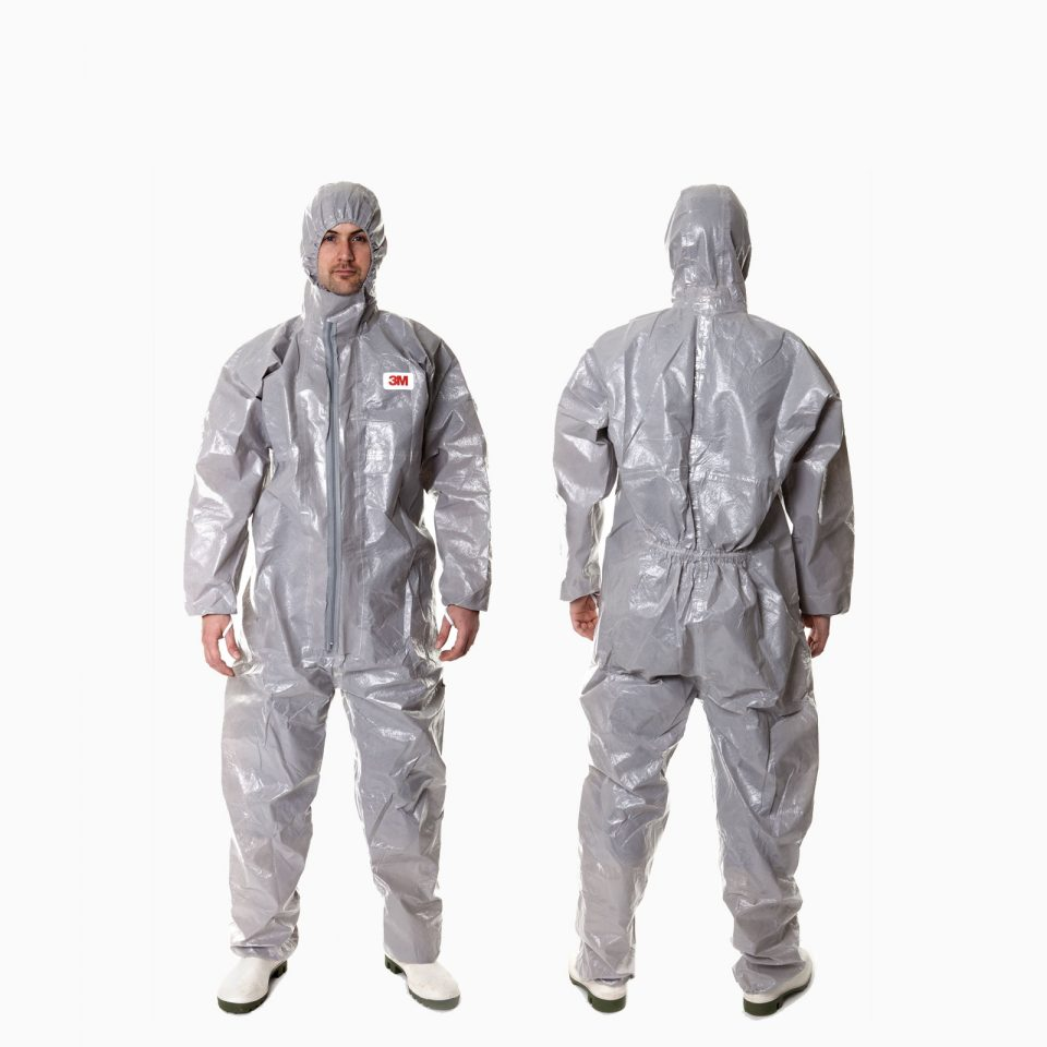 3Μ-4570 Φόρμα εργασίας πολλαπλών χρήσεων. Με ελαστικές μανσέτες, μέση και αστράγαλοι. Για ψεκασμούς, υγρά, χημικά, ασθένειες.