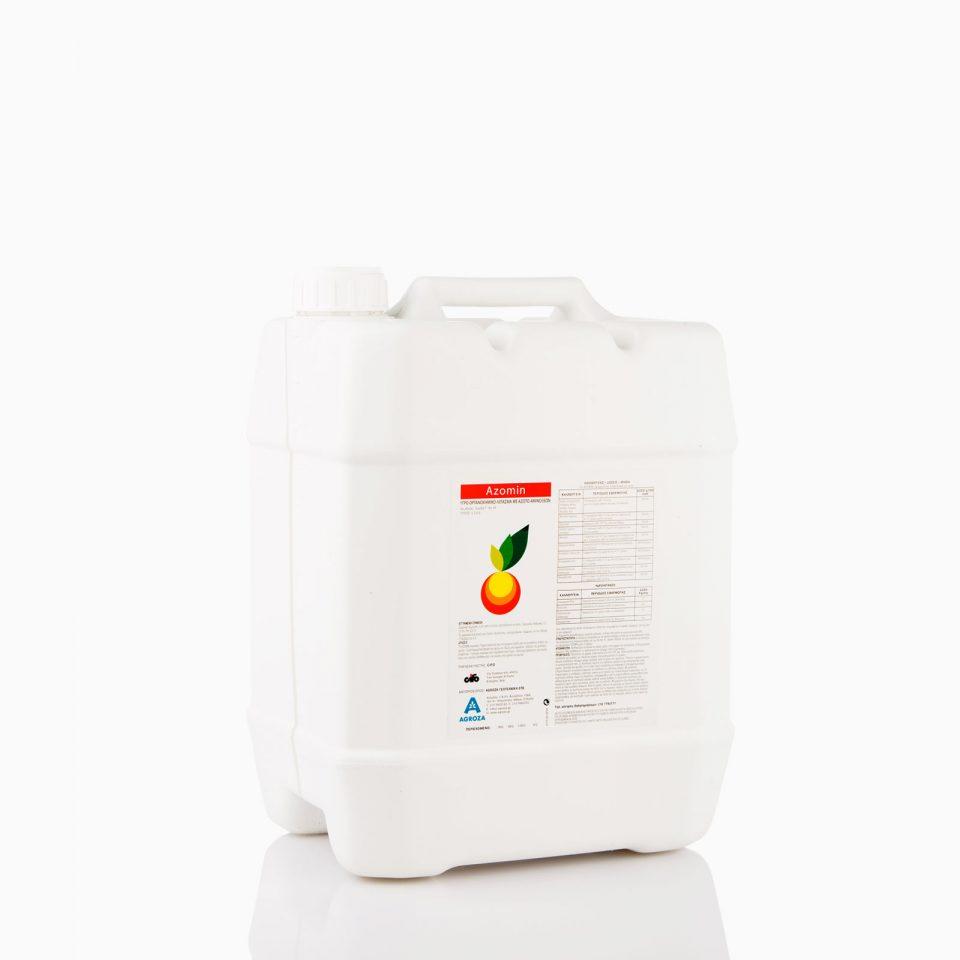 azomin λίπασμα αύξηση βλάστησης και καρπού χρώμα γεύση  Υδρολίπανση βελτίωση εδάφους αύξηση βλάστησης καρπού ριζοβολία 12 λίτρα