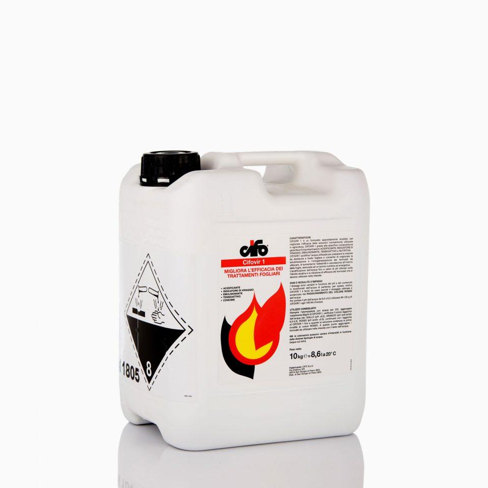 Διορθώνει το PH του ψεκαστικού νερού και αυτό φαίνεται με χρωματικό δείκτη. 10 λίτρα