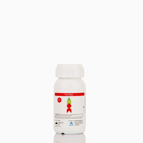 FerFast 200ml Λίπασμα EE υψηλής πυκνότητας. Προλαμβάνει και θεραπεύει τις τροφοπενίες σιδήρου, αυξάνει την φωτοσυνθετική ικανότητα του φυτού, δίνει έντονο πράσινο χρώμα στο φύλλωμα. 200ml