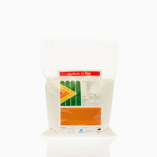 IDROFLORAL-15-5-30 Οργανοχημικό Λίπασμα Ε.Κ. NPK 15-5-30 + 5% SO3