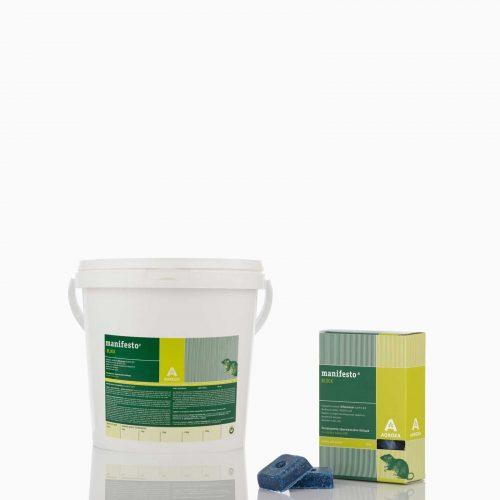Μανιφέστο Ποντικοφάρμακο σε κύβους με τρύπα 10 gr ή 20gr