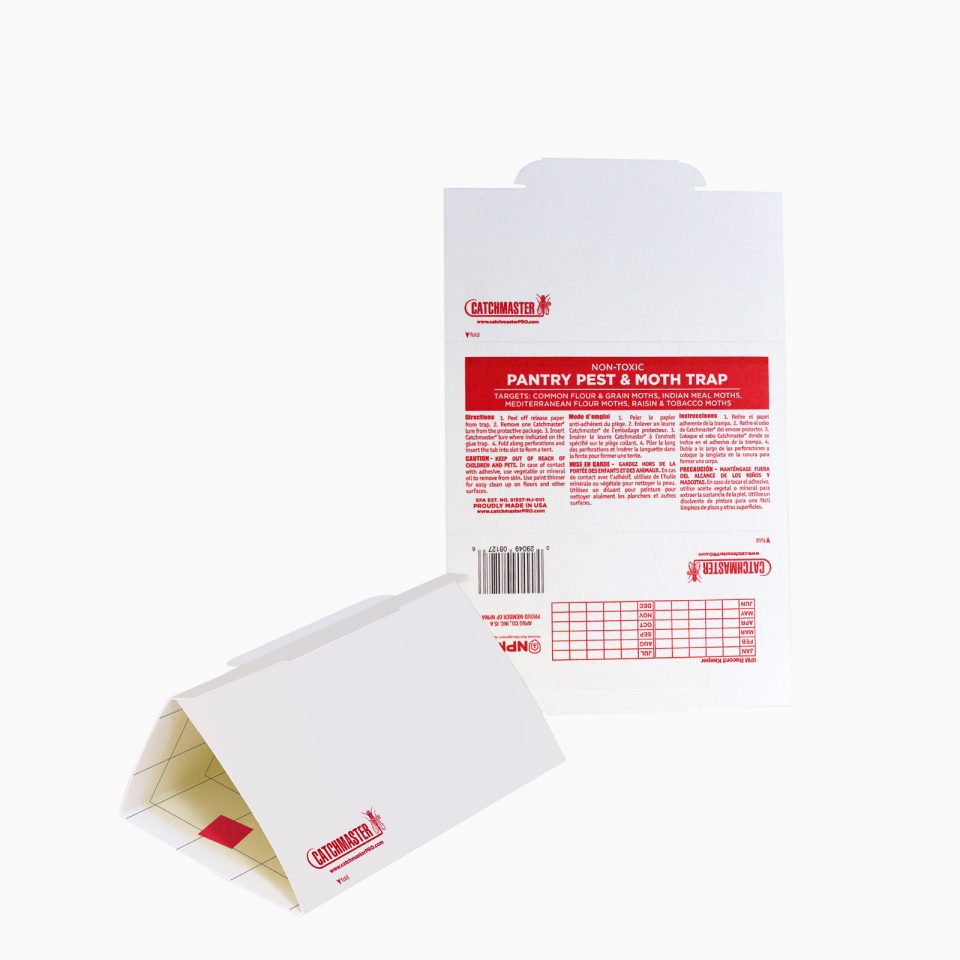 812PRO-CATCHMASTER H εντομοπαγίδα 812Β βοηθά στον εντοπισμό και τη μείωση των μολύνσεων από τα λεπιδόπτερα των τροφίμων.