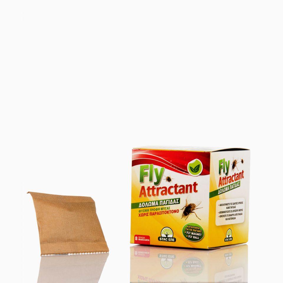FLY-ATTRACTANT Τροφοελκυστικό δόλωμα για μύγες.