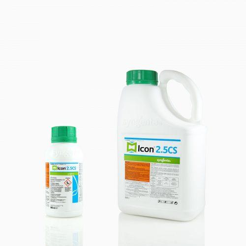 ICON-FAMILY Το ICON 2.5 CS είναι εντομοκτόνο εσωτερικών και εξωτερικών χώρων για την καταπολέμηση εντόμων υγειονομικής σημασίας.