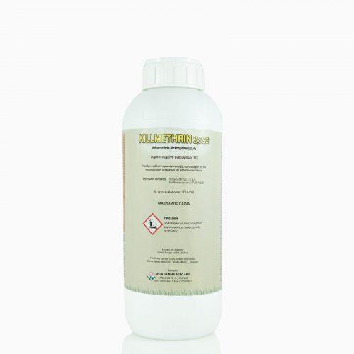 KILLMETHRIN-2,5SC-1 Πυρεθρινοειδές εντομοκτόνο επαφής και στομάχου για την καταπολέμηση ιπτάμενων και βαδιστικών εντόμων. Σε υγρή μορφή.