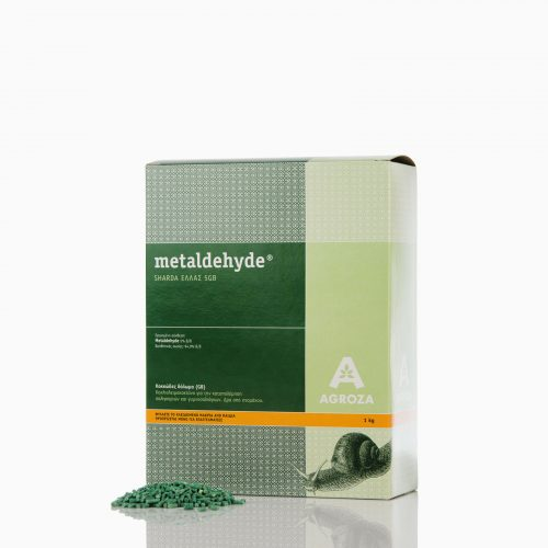 METALDEHYDE-1 Ετοιμόχρηστο δόλωμα metaldehyde 3GB, κατά των σαλιγκαριών